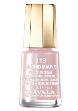 Esmalte Cremoso Mavala Mini Color 5ml 119 - Orchid Mauve - I