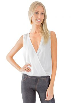 Camisa Lucy In The Sky Transpassada Cachecour - Off White