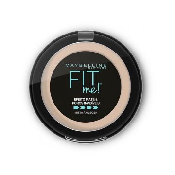 Pó Compacto Maybelline Fit Me! - B01 Super Claro Bege - Inco