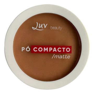 Pó Compacto Matte - Luv Beauty Toffee - Incolor