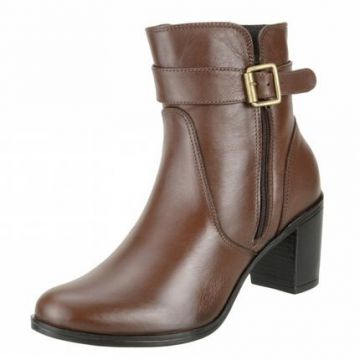 Bota Art Shoes Ankle Boot - Marrom