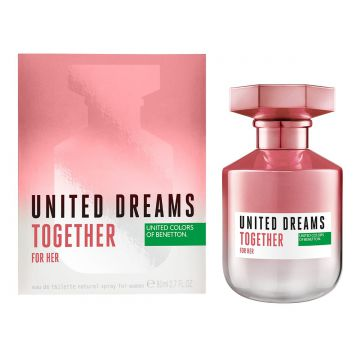 Perfume Benetton United Dreams Together for Her Feminino EDT