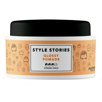 Pomada Alfaparf Style Stories Glossy Pomade 100ml - Incolor