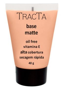 Base Facial Matte Tracta Oil Free 03 - Incolor