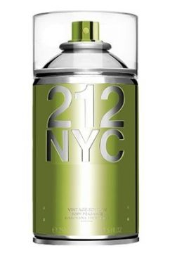 Body Spray 212 NYC Feminino 250ml Carolina Herrera - Incolor