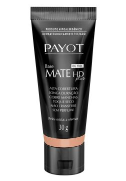 Base Líquida Payot - HD Mate Plus Bronze - Incolor