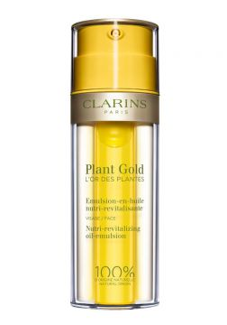 Emulsão Facial Clarins Plant Gold 35ml - Incolor