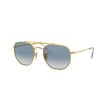 Óculos de Sol Ray-Ban 0RB3648-THE MARSHAL Unissex - Ouro