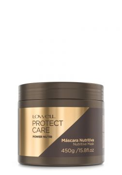 Máscara Power Nutri Protect Care Lowell 450g - Incolor