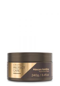 Máscara Power Nutri Protect Care Lowell 240g - Incolor