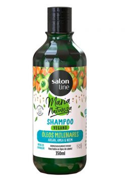 Salon Line Óleos Milenares Shampoo Maria Natureza 350ml - In