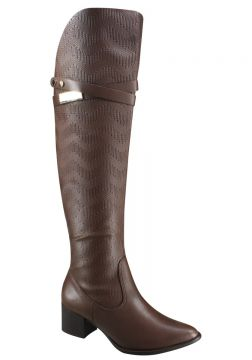Bota Ramarim Over Knee 16-51102 - Marrom (bio Slim/trisse Pl