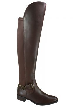 Bota Montaria Over Knee Ramarim Com Lycra 16-50103 - Marrom