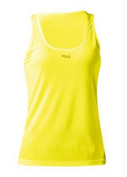 Regata Feminina Fila Basic Light Amarela