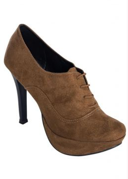 Ankle Boot Caramelo Oxford