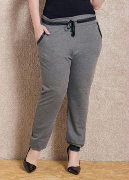Calça Jogging Quintess Mescla Plus Size