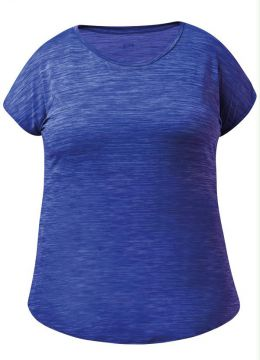 Blusa Fila Plus Size Ns Azul Royal