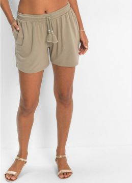 Short de Viscose Cinza