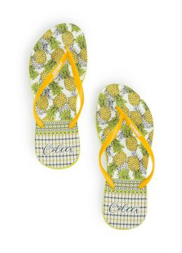Chinelo Amarelo Colcci Abacaxis