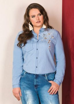 Camisa Jeans Lisamour