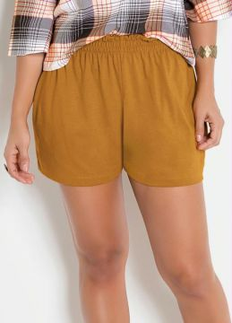 Short Clochard Caramelo