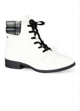Dakota - Bota Coturno Dakota Branco Branco