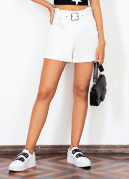 Sofie - Short Off White