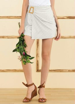 Doce Trama - Short Off White
