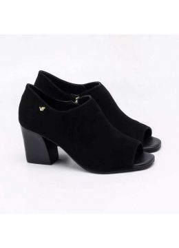Verofatto - Open Boot Verofatto Nobuck Preto