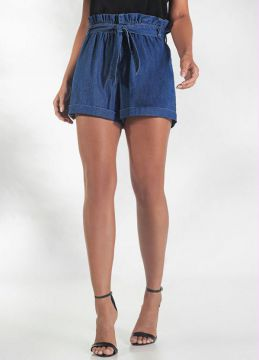 Endless - Short Clochard Feminino Endless Azul
