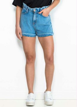 Coca-cola - Short Jeans Clochard Azul