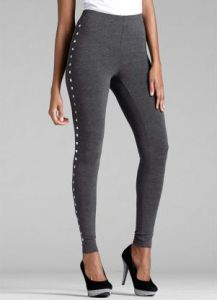 Legging com Spikes Grafite