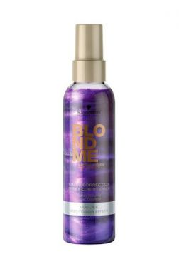 Leave-In Spray Desamarelador Schwarzkopf BlondMe Keratin Re