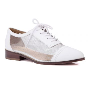 Oxford Branco Transparente