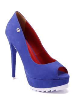 Peep Toe Fashion Marine