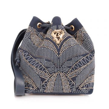 Bolsa Saco Hot Fix Indigo
