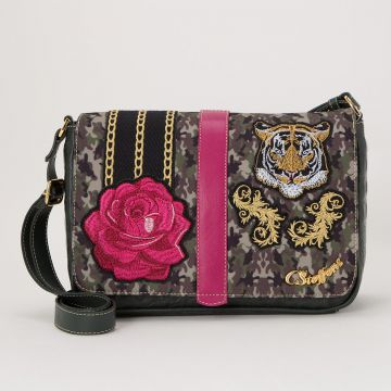 Bolsa Musgo Tiger Flower - Carmen Steffens