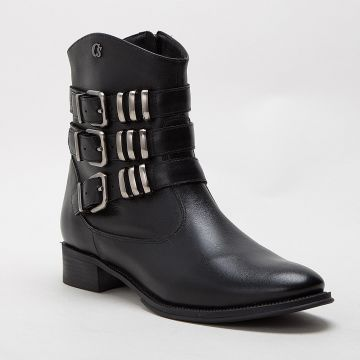 Bota Fivelas All Black - Carmen Steffens