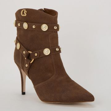 Ankle Boot Capuccino Metais - Carmen Steffens