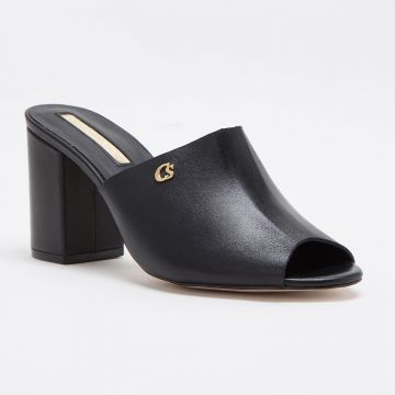 Tamanco Mule All Black - Carmen Steffens