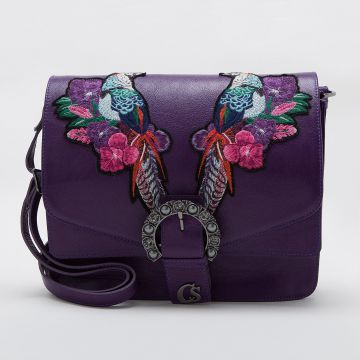 Bolsa Violeta Faisões - Carmen Steffens