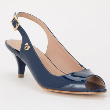 Peep Toe Fashion Blue - Carmen Steffens