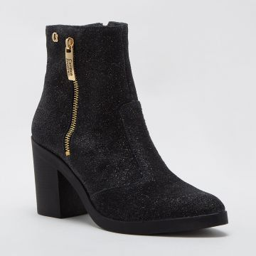Ankle Boot Brilhos Gold - Carmen Steffens