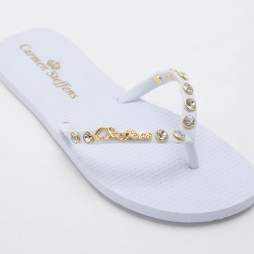 Chinelo Fashion White - Carmen Steffens