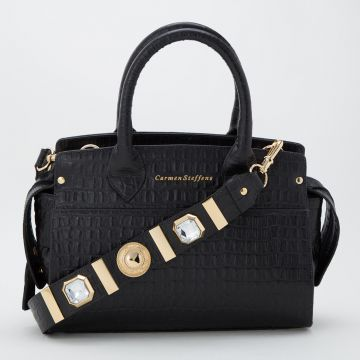 Bolsa Cristal Preta - Carmen Steffens