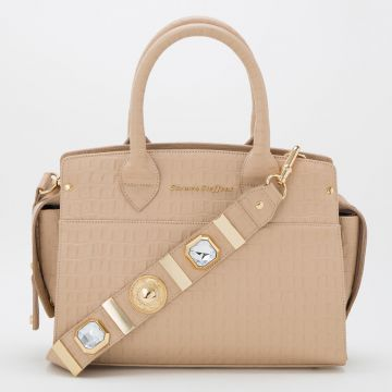 Bolsa Cristal Nude - Carmen Steffens