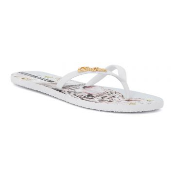 Chinelo Flat White Tigress - Carmen Steffens
