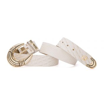 Cinto Golden Off White - Carmen Steffens