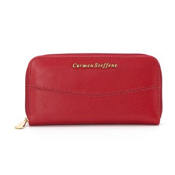 Carteira Costure Red - Carmen Steffens
