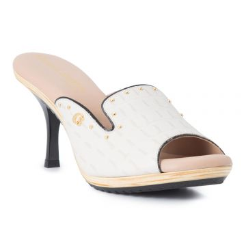 Tamanco Off White Gold - Carmen Steffens